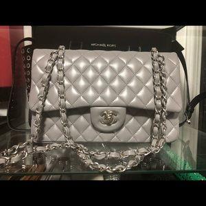 Handbags - Gray evening bag